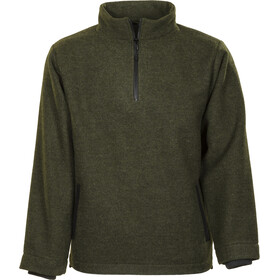 Roughstuff Troyer Pullover Heren, green/deep grey